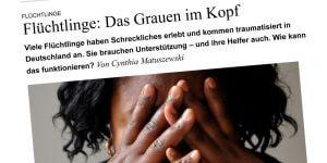 Flüchtlinge: Das Grauen im Kopf