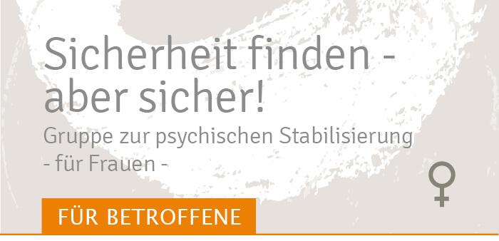 sicherheit finden Stabilisierungsgruppe Traumahilfe Netzwerk Augsburg und Schwaben