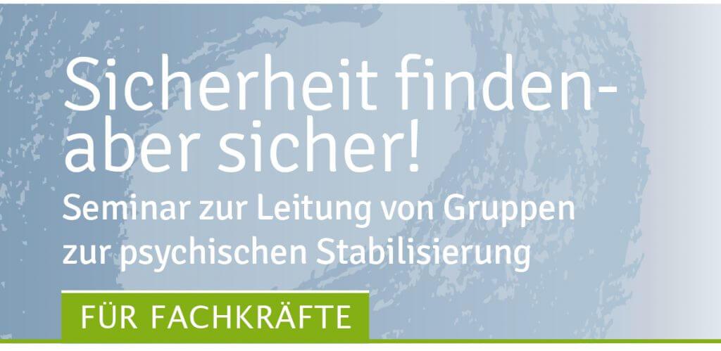 Leitung Stabilisierungsgruppe seminar des Traumahilfe Netzwerks Augsburg und Schwaben e. V.