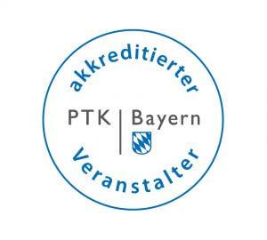 Akkreditierter Veranstalter der PTK Bayern